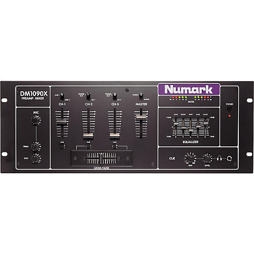 Numark DM1090X Studio Series DJ Mixer-thumbnail