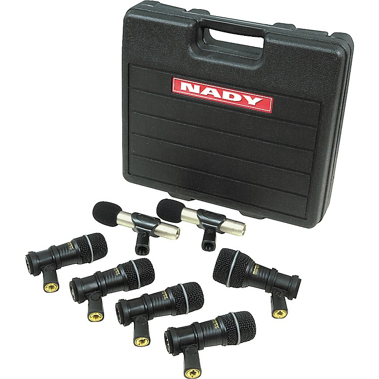 Nady DMK-7C 7-Piece Drum Microphone Pack