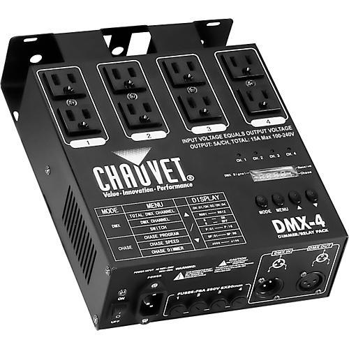CHAUVET DJ DMX-4 Dimmer/Relay Pack