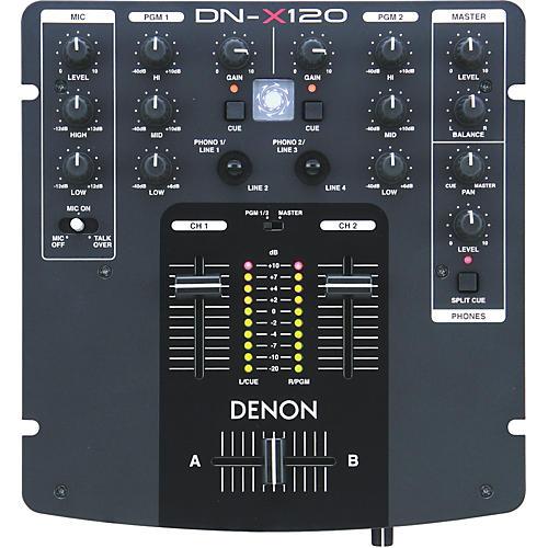Denon DN-X120 Compact Performance DJ Mixer