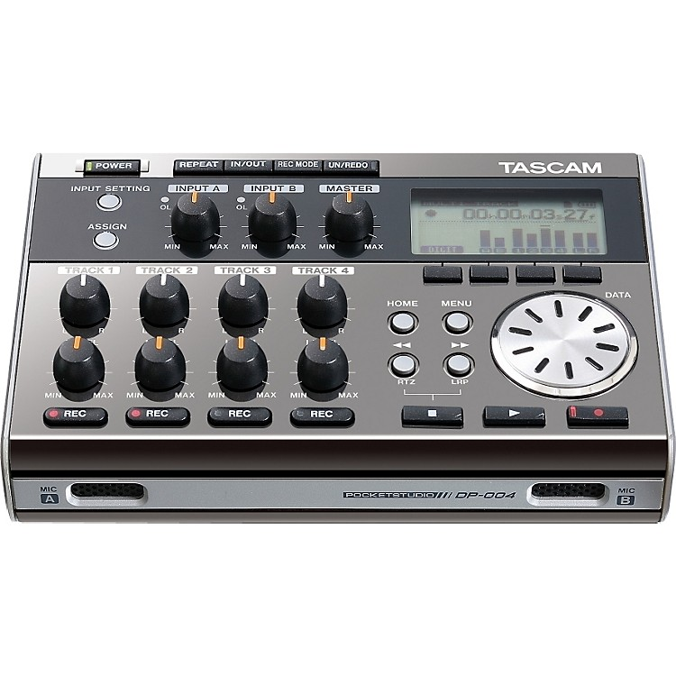 TASCAM DP-004 Portable 4-track Digital Multi-track Recorder Ltd Edition