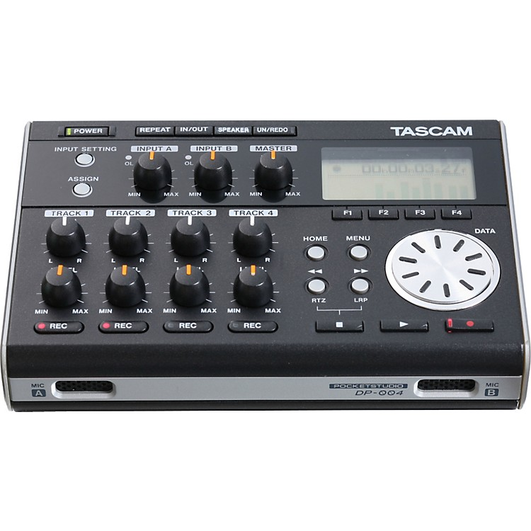 TASCAM DP-004 Portable 4-track Digital Multi-track Recorder