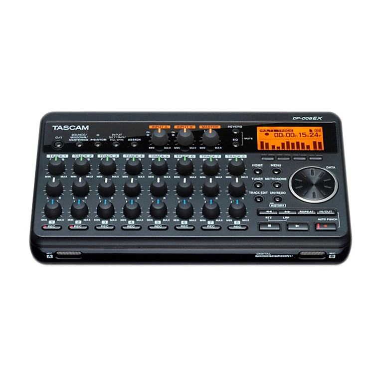 TASCAM DP-008EX Digital 8-Track Pocketstudio
