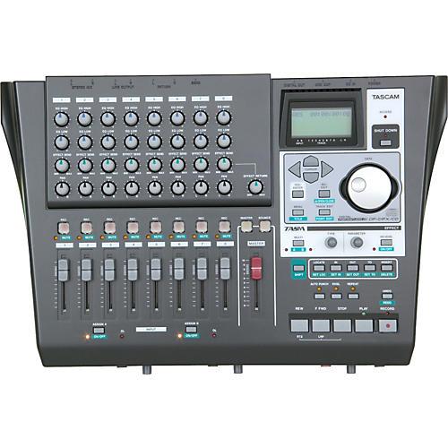 TASCAM DP-01FX/CD 8-Track Hard Disk Recorder with CD Burner