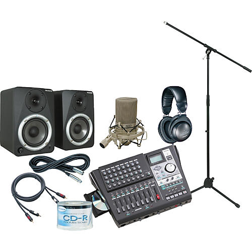 Tascam DP-01FX/CD All-In-One Recording Package