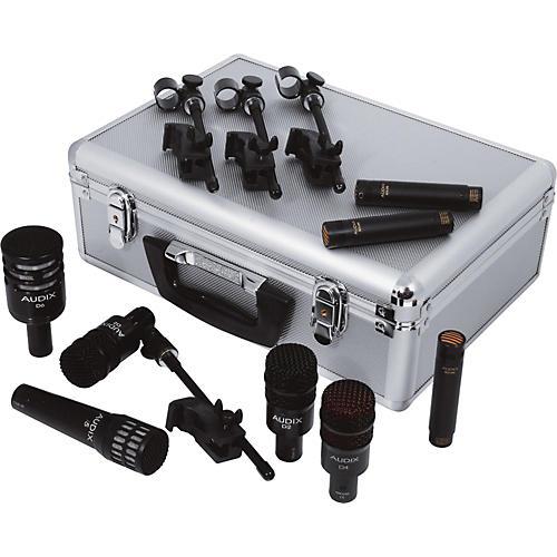 audix dp elite 8 drum microphone pack musician 39 s friend. Black Bedroom Furniture Sets. Home Design Ideas