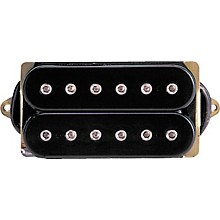 DiMarzio DP100 Super Distortion Pickup Black and Cream F-Space