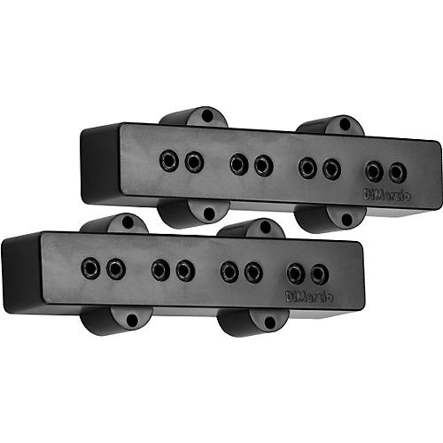 DiMarzio DP123 Model J Bass Pickup Set Black