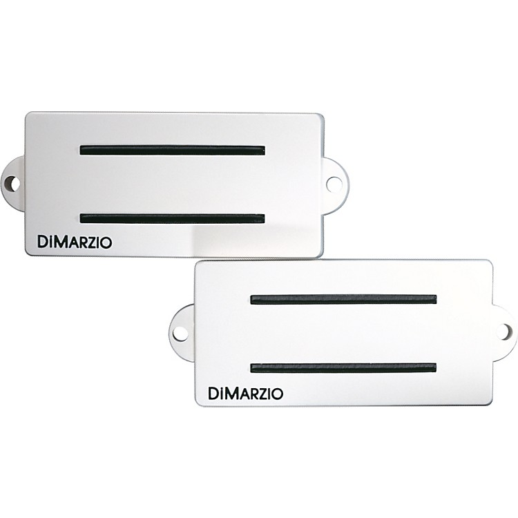 DiMarzio DP127 Split P Replacement Pickup for Fender P Bass White