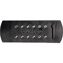 DiMarzio DP138 Virtual Acoustic Pickup with Volume Control Black