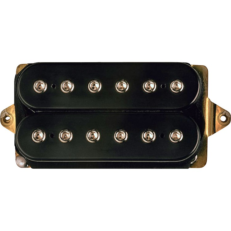 DiMarzio DP153 Fred Humbucker Pickup Black White F-Spaced