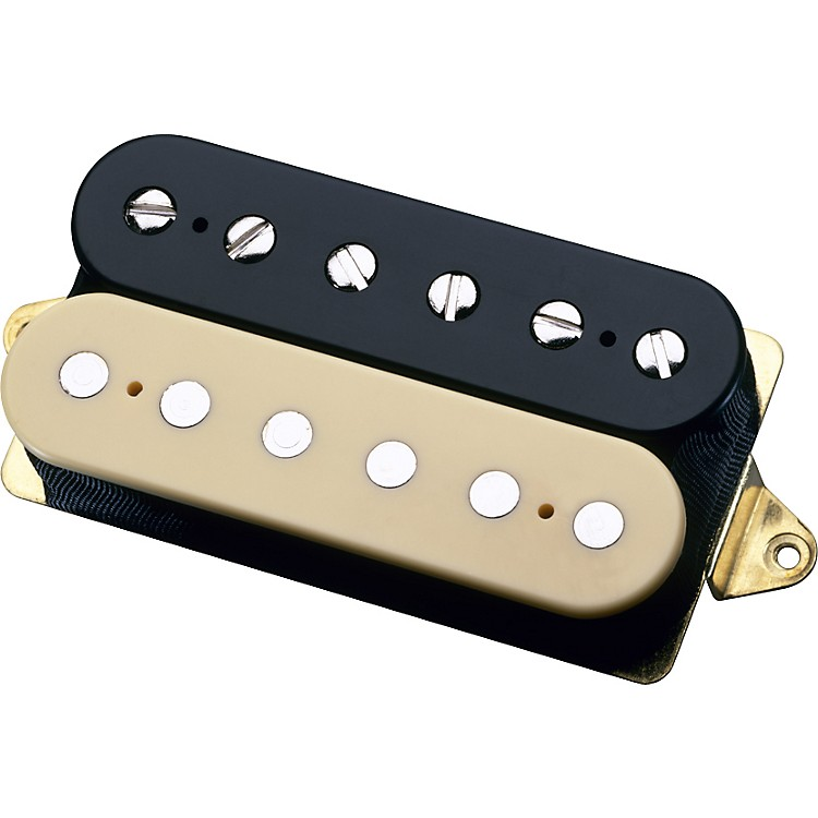 DiMarzio DP155 Tone Zone Humbucker Pickup Black & Creme F-Space