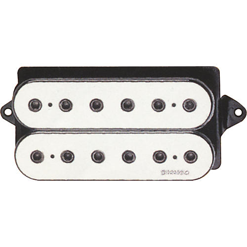DiMarzio DP158 EVOLUTION NECK PICKUP BLACK AND WHITE REGULAR White F-Space
