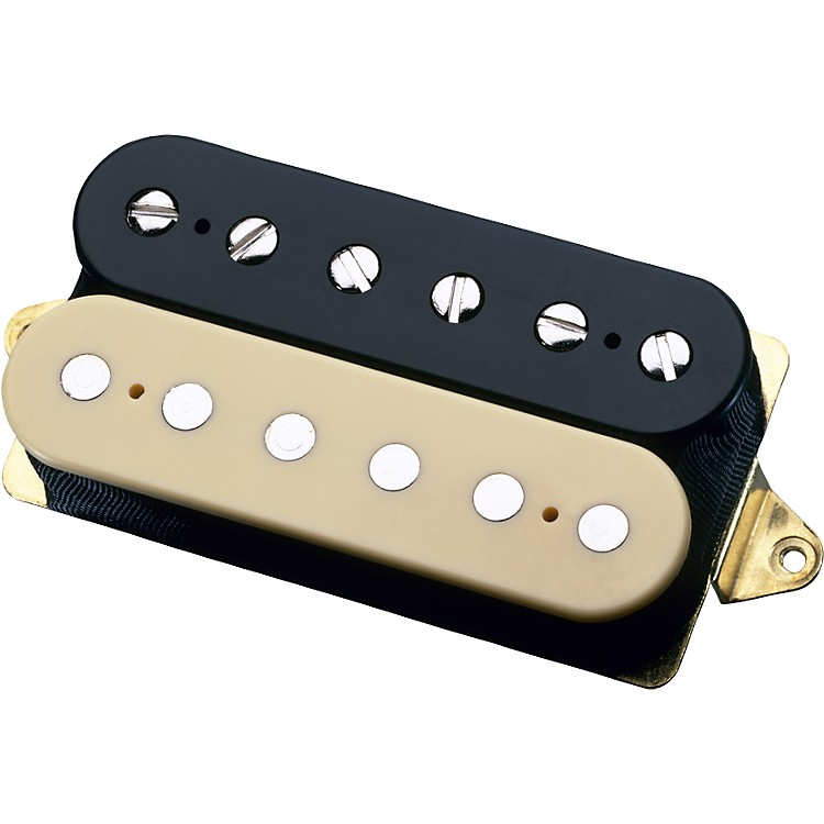 DiMarzio DP160 Norton Bridge Guitar Pickup Black/Crème Regular Spacing