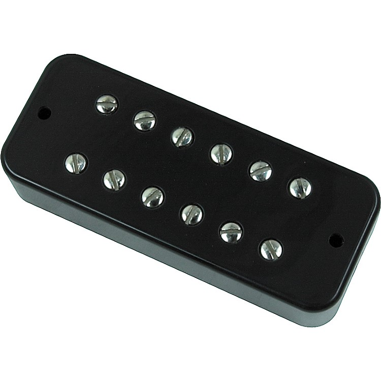 DiMarzio DP162 Deluxe Plus Soapbar Pickup Black Neck