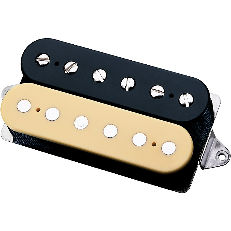 DiMarzio DP163 Bluesbucker Humbucker Pickup Black/Crème Regular Spacing
