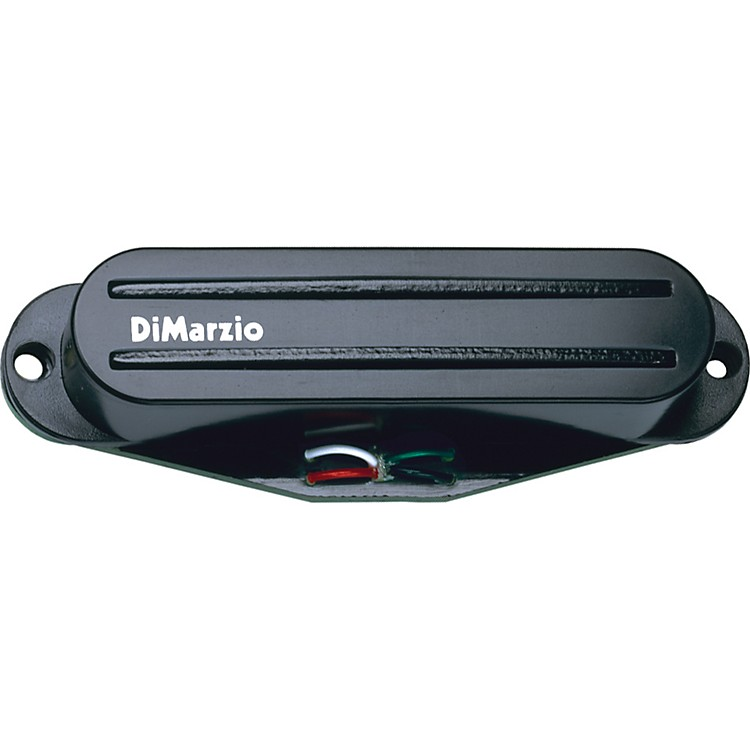 DiMarzio DP218 Super Distortion S Strat Humbucker Pickup Black