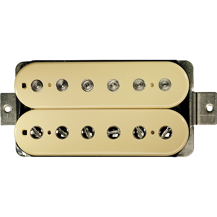 DiMarzio DP223 PAF Bridge Vintage Bobbins Humbucker 36th Anniversary Guitar Pickup Creme Regular Spacing