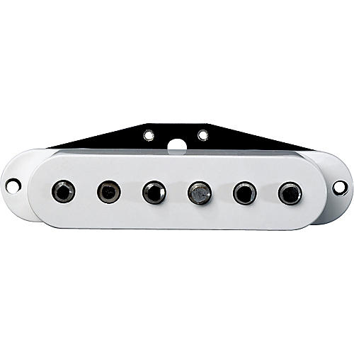 DiMarzio DP420 Virtual Solo Bridge Hum Canceling Strat Pickup White
