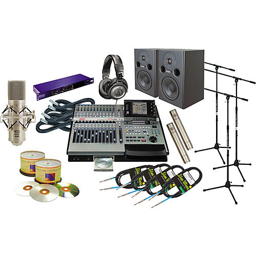 Akai Professional DPS24 All-In-One Recording Package-thumbnail