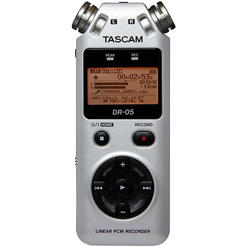 Tascam DR-05 Limited Edition Platinum Solid State Recorder
