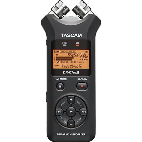 Tascam DR-07mkII Handheld Digital Recorder