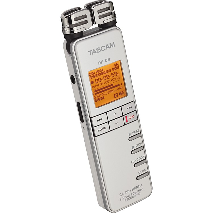 TASCAMDR-08 Linear PCM/MP3 Recorder