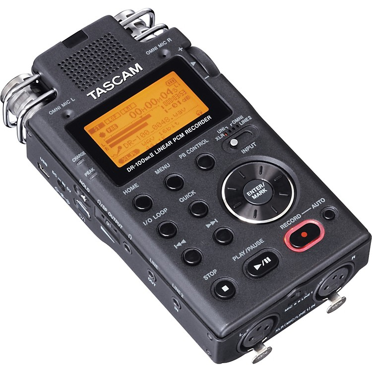 TASCAM DR-100 MKII Portable Digital Recorder