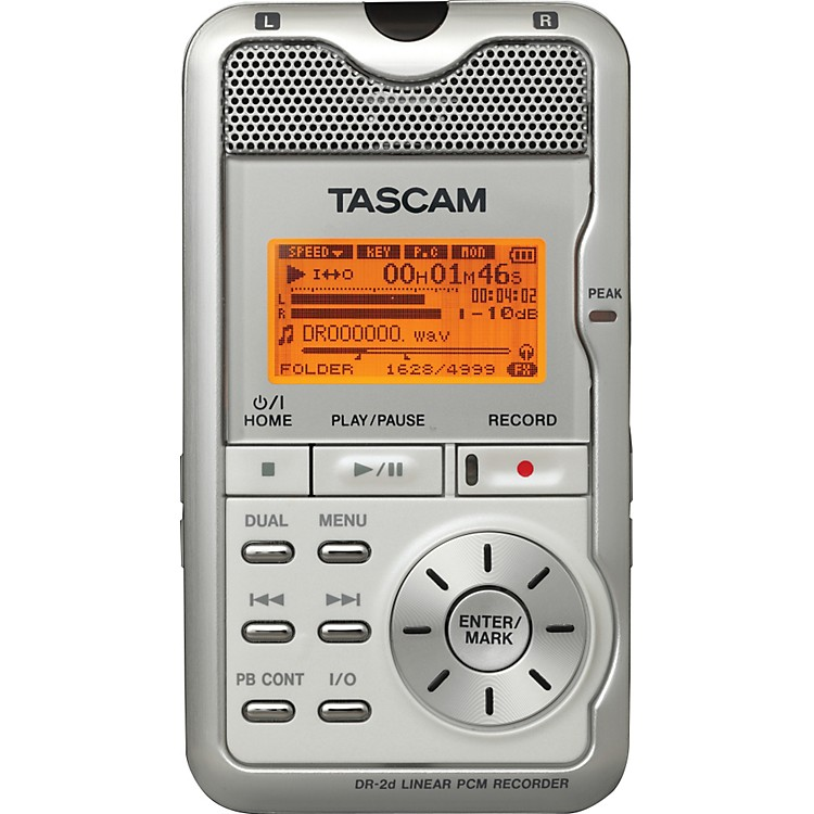 TASCAM DR-2d Portable Digital Recorder