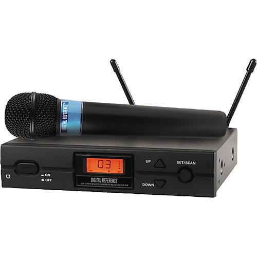 digital reference dr 3600 handheld wireless microphone system musician 39 s friend. Black Bedroom Furniture Sets. Home Design Ideas