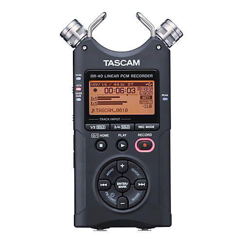 TASCAM DR-40E Portable Digital Recorder
