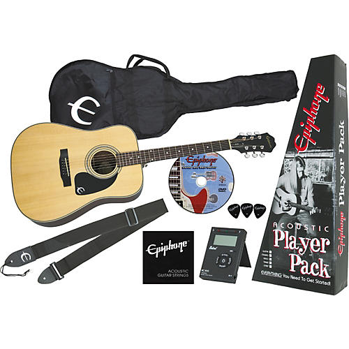 Epiphone DR-90 Acoustic Player Pack-thumbnail