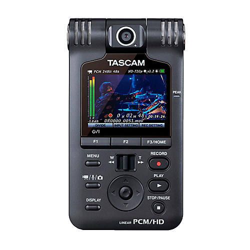 Tascam DR-V1HD Handheld Video / Linear PCM Recorder-thumbnail