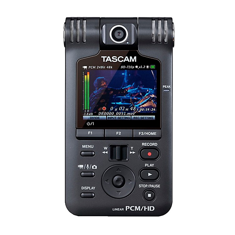 TASCAM DR-V1HD Handheld Video / Linear PCM Recorder