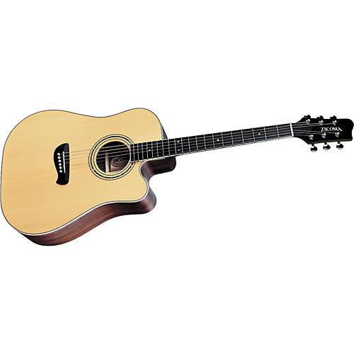 Tacoma DR14C Dreadnought Cutaway Acoustic Guitar