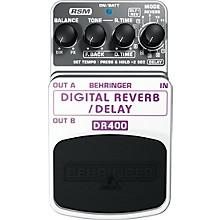 Behringer DR400 Digital Reverb/Delay Effects Pedal Level 1
