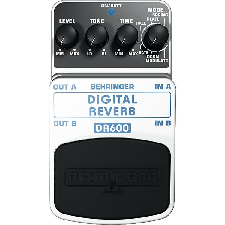 BehringerDR600 Digital Stereo Reverb Guitar Effects Pedal