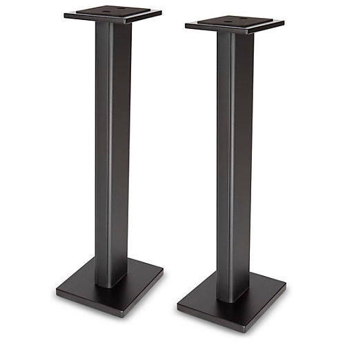 DR Pro DRPRO SMS1BK Wood Studio Monitor Stand (Pair) BLACK