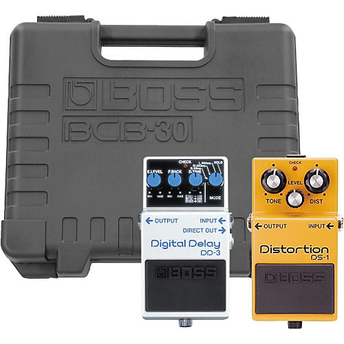 Boss DS-1/DD-3 Players Pack with BCB-30 Pedal Board-thumbnail