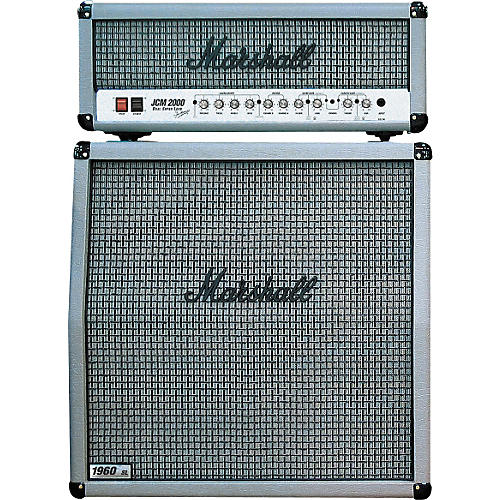 Marshall DSL100 and 1960A Silver Edition 100W Half Stack Package