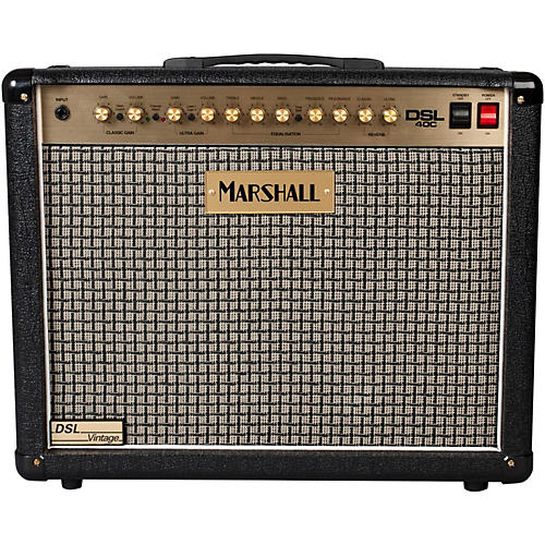 Marshall DSL40C Limited Edition Vintage 40W 1x12 Tube Guitar Combo Amp-thumbnail