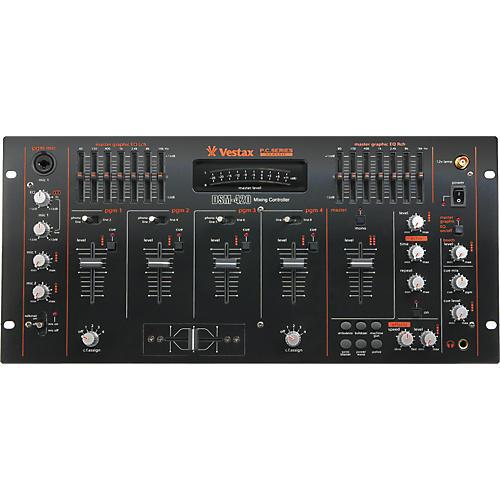 Vestax DSM-420 4-Channel DJ Mixer with Effects