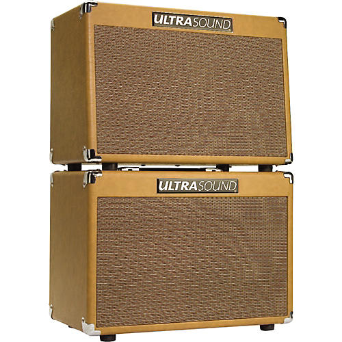 Ultrasound DSX Acoustic Guitar Combo Amp and XTC Acoustic Guitar Speaker Cab PowerStack-thumbnail
