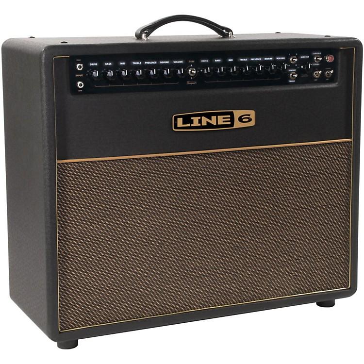 Line 6DT50 112 25/50W 1x12 Guitar Combo AmpBlack