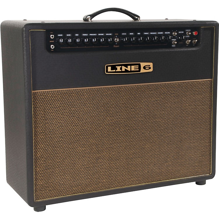 Line 6DT50 212 25/50W 2x12 Guitar Combo AmpBlack