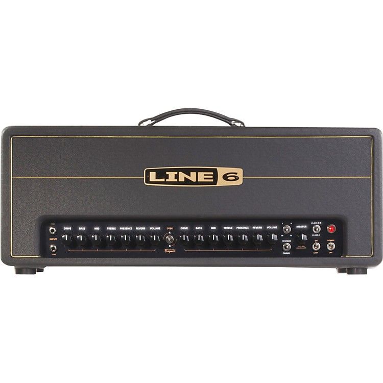 Line 6 DT50 HD 25/50W Guitar Amp Head Black