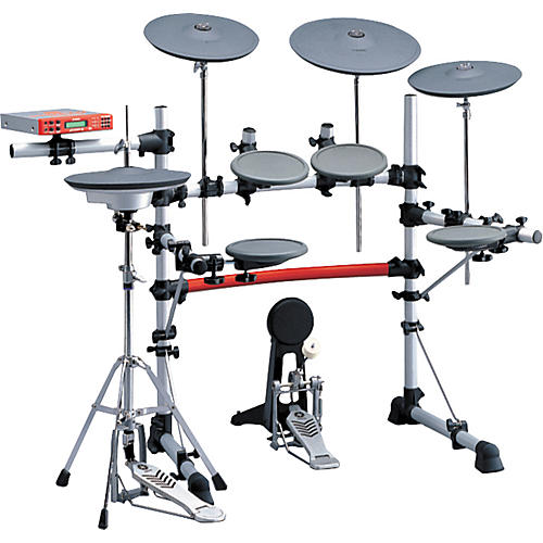 Yamaha dtxpress iii electronic drum set dxpiii musician for Electric drum set yamaha