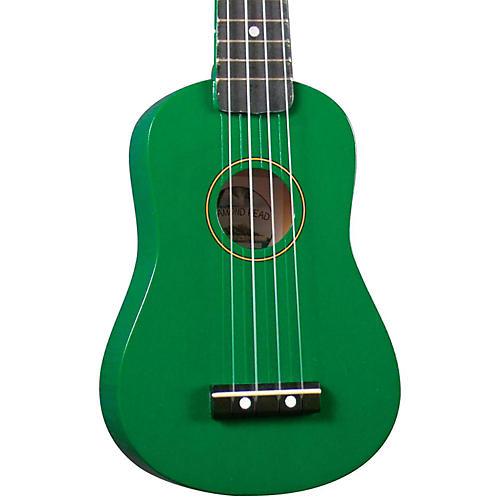 Diamond Head DU-10 Soprano Ukulele Green Black Fingerboard