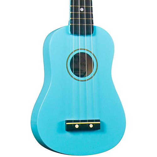 Diamond Head DU-10 Soprano Ukulele Light Blue Black Fingerboard
