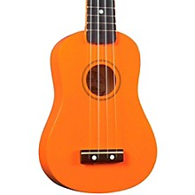 Diamond Head DU-10 Soprano Ukulele Orange Black Fingerboard